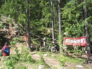 Kuva vuoden 2007 Laajavuori-DH:sta.