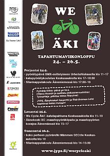 We Cycle Äki!
